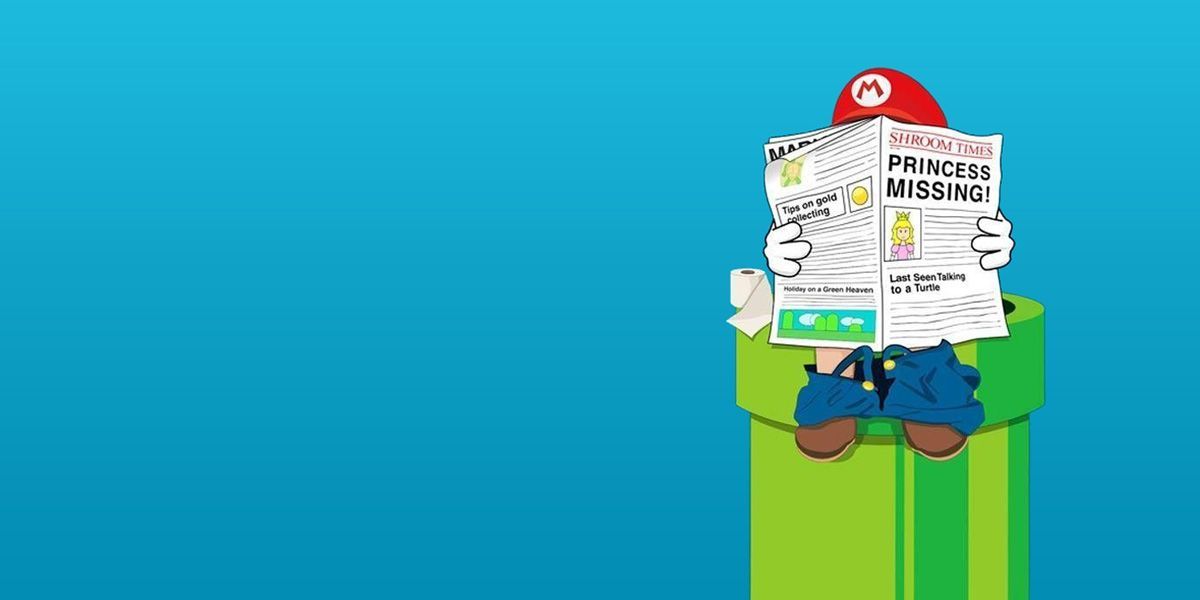 Nintendo Mario Twitter Cover Super Mario Brothers Twitter Backgrounds