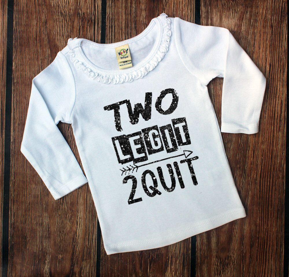 Toddler 2nd Birthday Shirt Girl