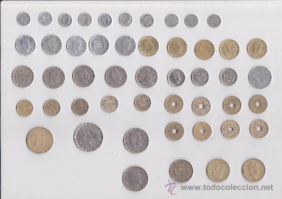 50 Monedas Distintas España Bonita Coleccion De La Historia De