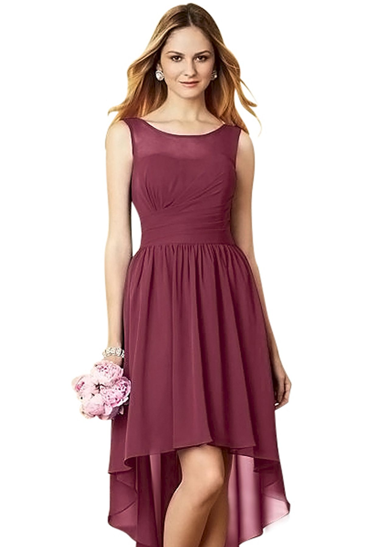 Alfred angelo 7298 s bridesmaid dress in wine in chiffon wedding alfred angelo 7298 s bridesmaid dress in wine in chiffon ombrellifo Gallery