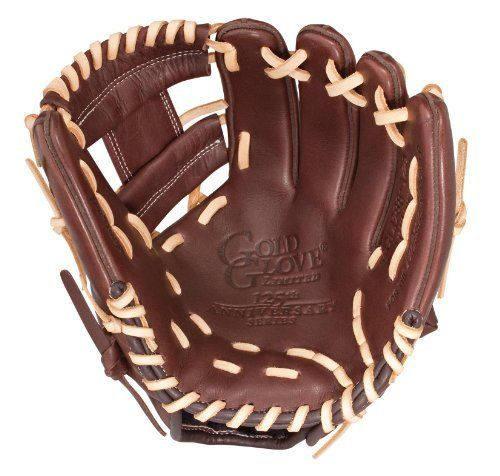 Rawlings Dark Brown Baseball Glove 11 1 2 Inch Left Hand Throw By Rawlings 93 21 The Rawlings 125th Anniversary Gold Gloves Sports Gloves Baseball Glove