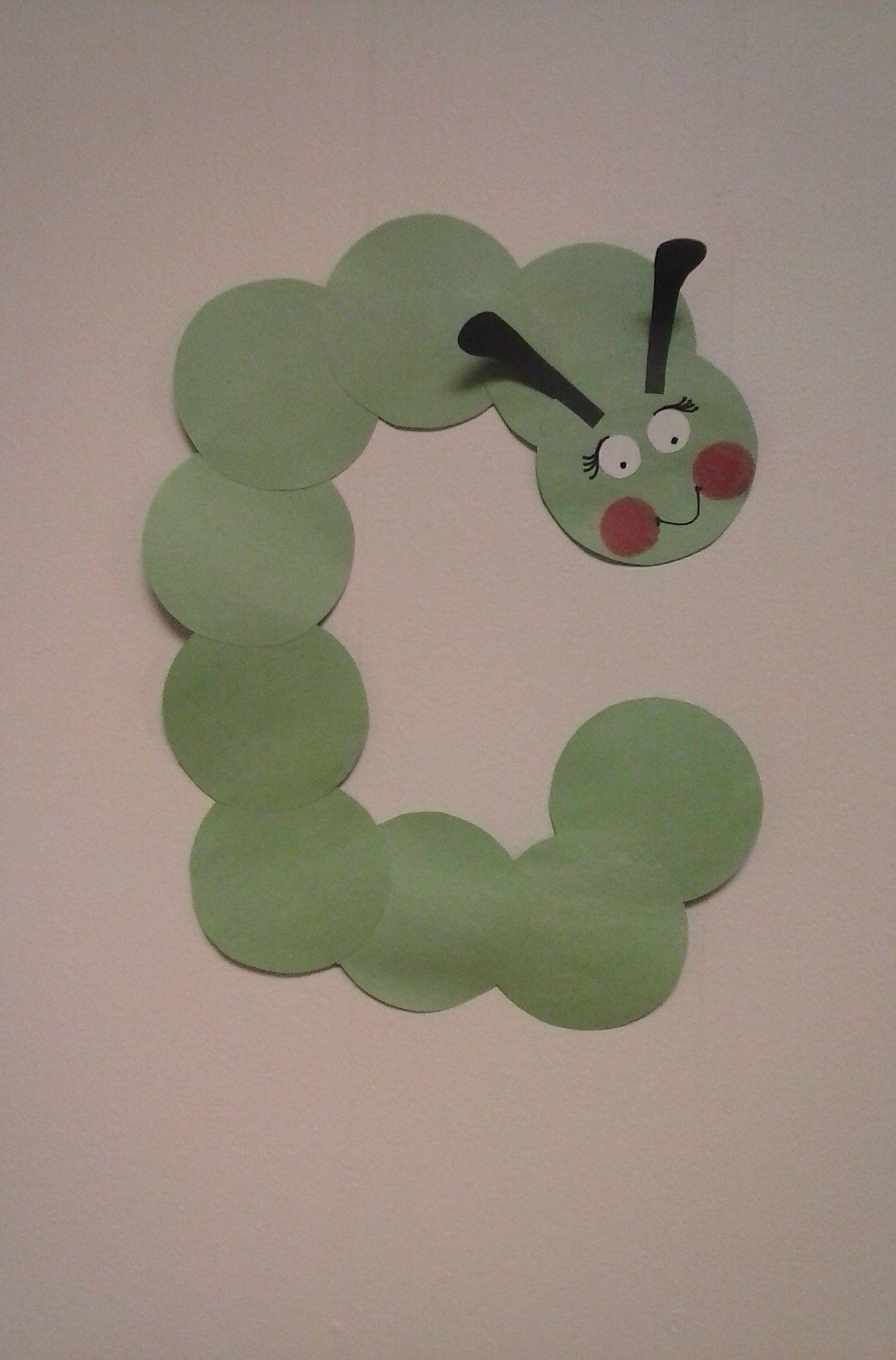 Preschool Letter C C Is For Caterpillar