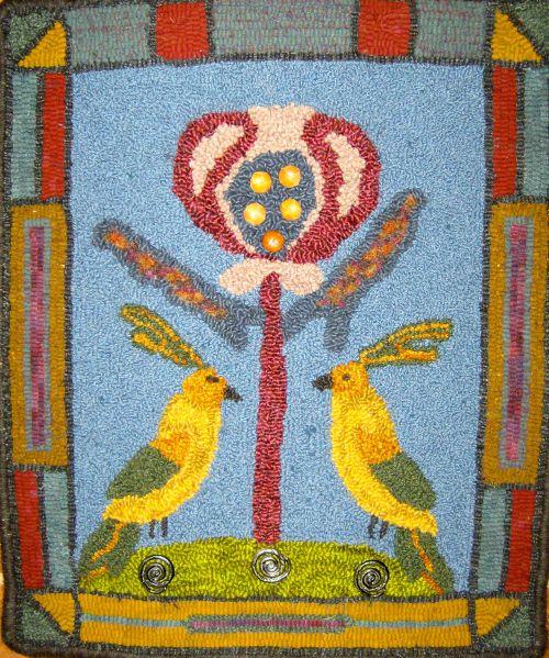 HPIM3270 Rug hooking, Rugs, Wool rug