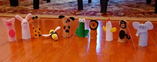 Finger Puppets | A Small Snippet