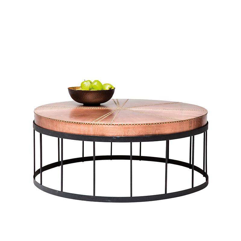 WOHNZIMMER - Bord Copper Rivet Decor ideas Pinterest Inredning - industrial chic wohnzimmer