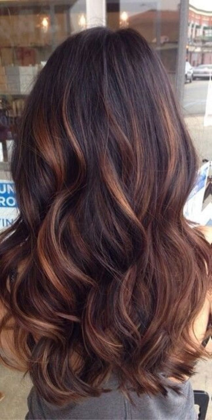 Best 25 Burgendy Hair With Highlights Ideas On Pinterest