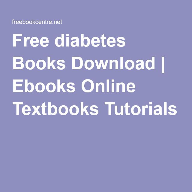 free diabetes books download