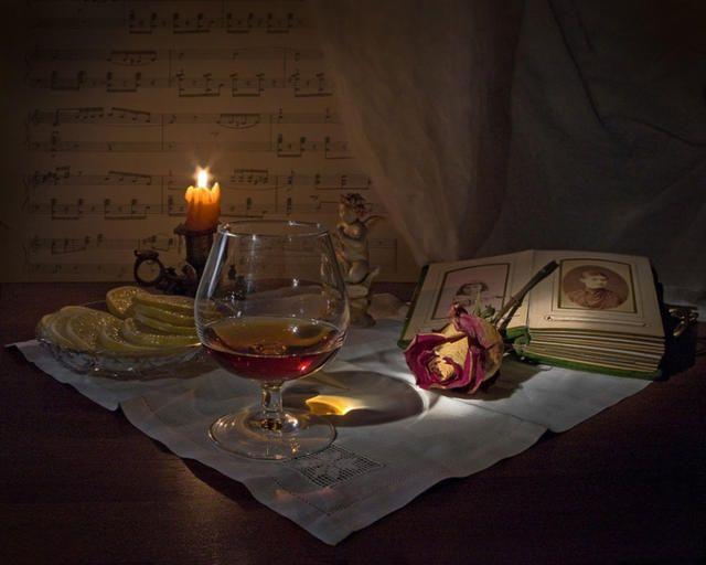 День посиделок при свечах стихи