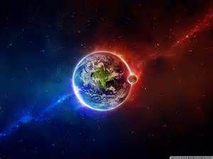 La Terre Planete Bleue La Notre Fond Ecran Galaxie Art Spatial Fond D Ecran Abstrait