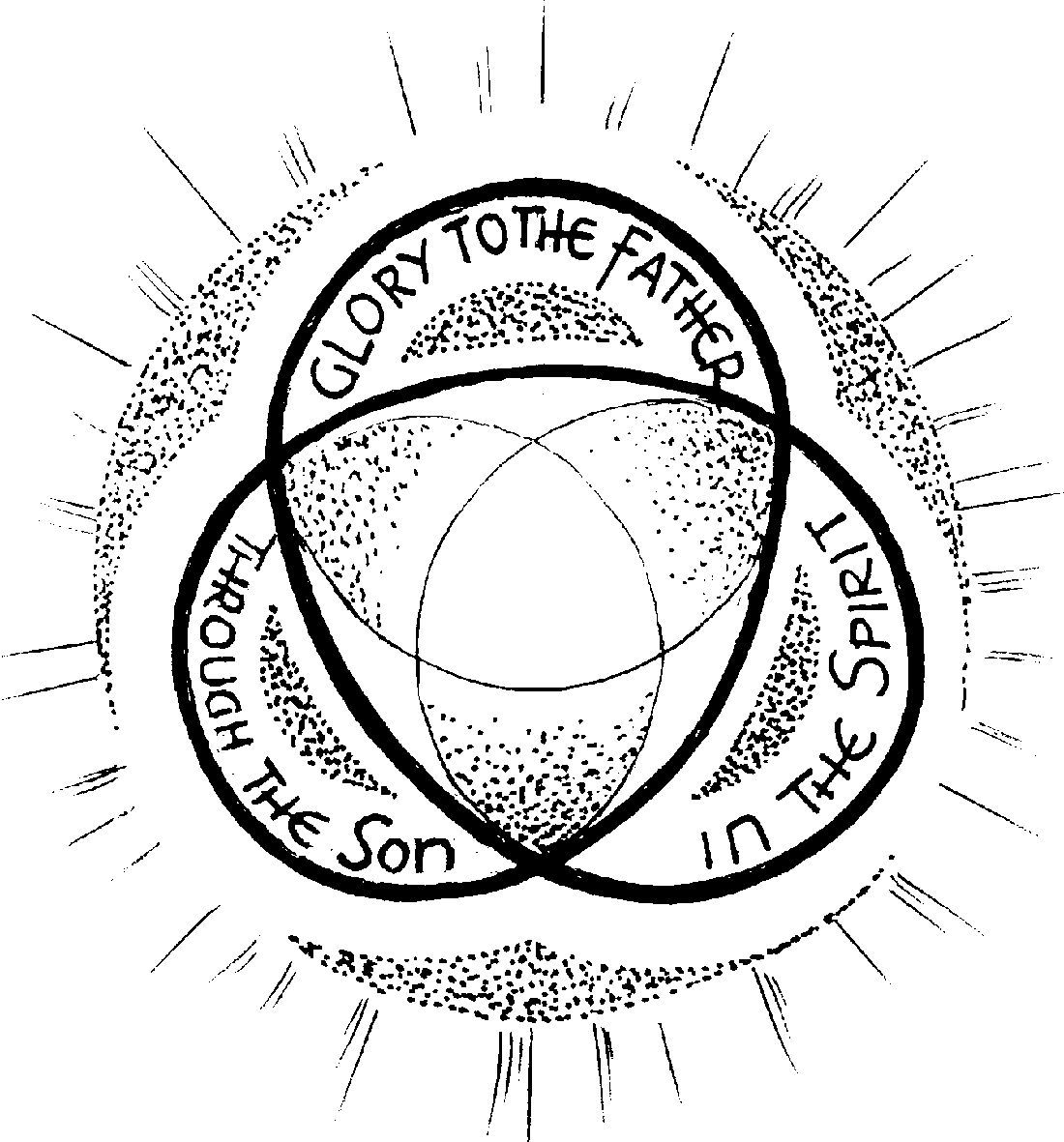 Holy Trinity Coloring Page Coloring Pages Coloring Sheets