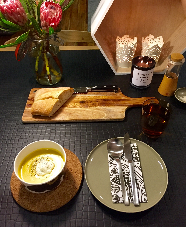 Scandichic Scandinavian styling with Marimekko bowl and