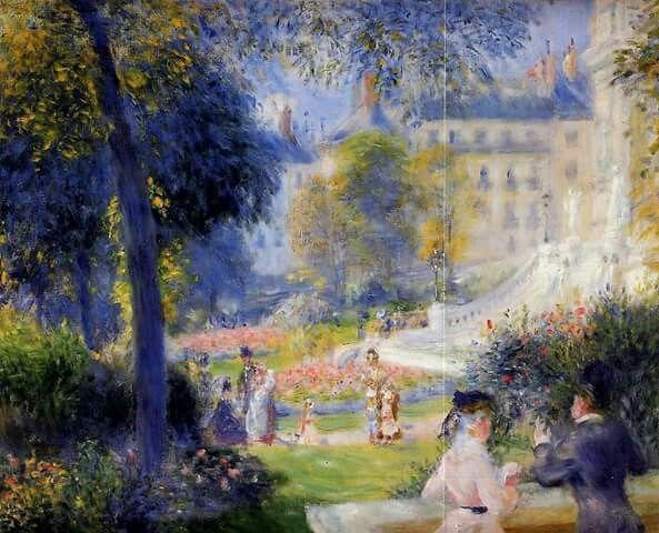 Renoir, Piazza della Trinità