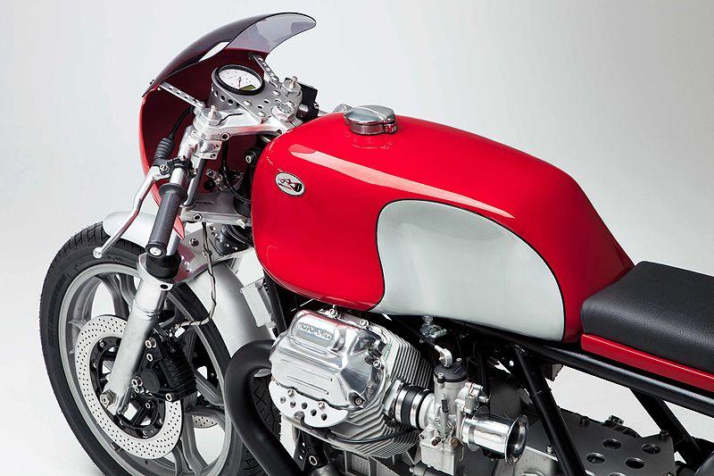 27/06/2012   Moto Guzzi Café Racer: 'Kaffeemaschine Nummer 6'