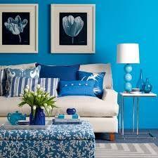 Blue teal - soggiorno blu e bianco - #interior #design #turquoise ...