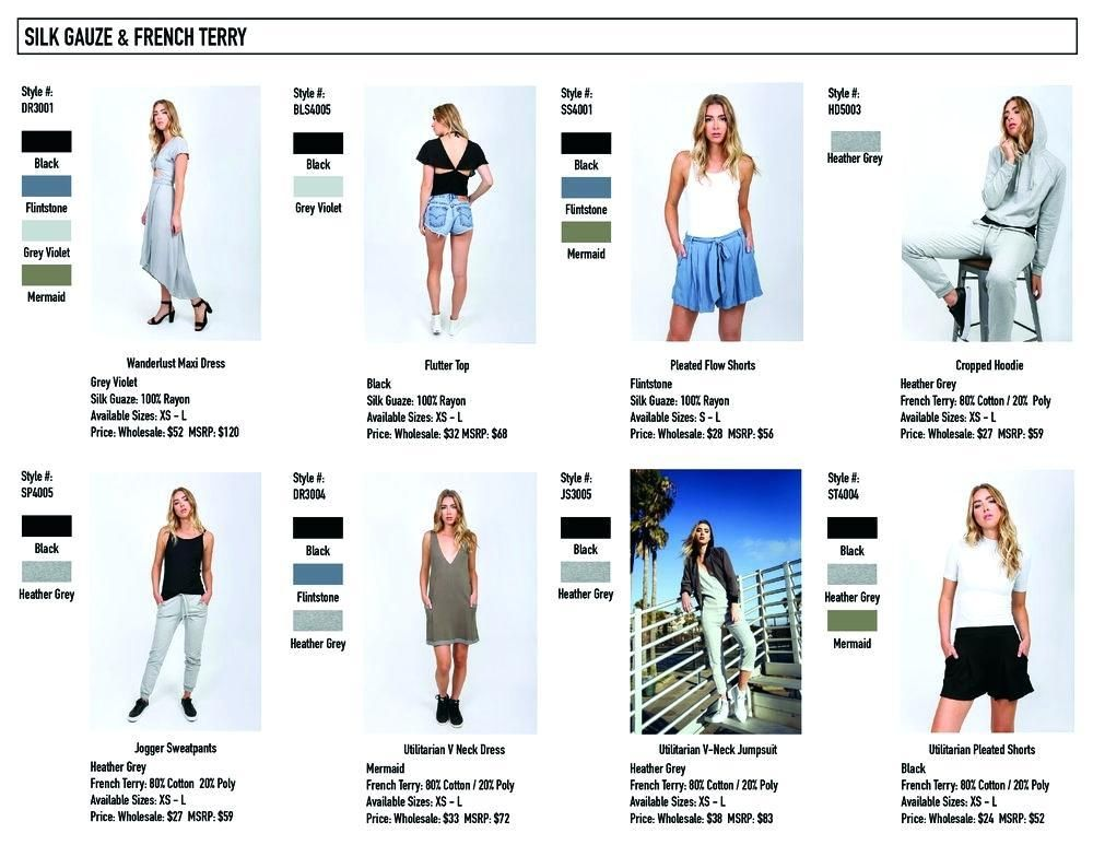 line sheet example fashion Google Search Fashion, Line
