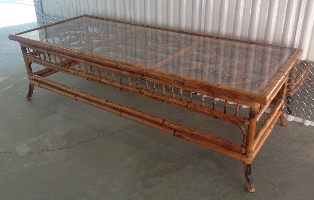 Bamboo Coffee Table Glass Top Bamboo Coffee Table Wicker Coffee
