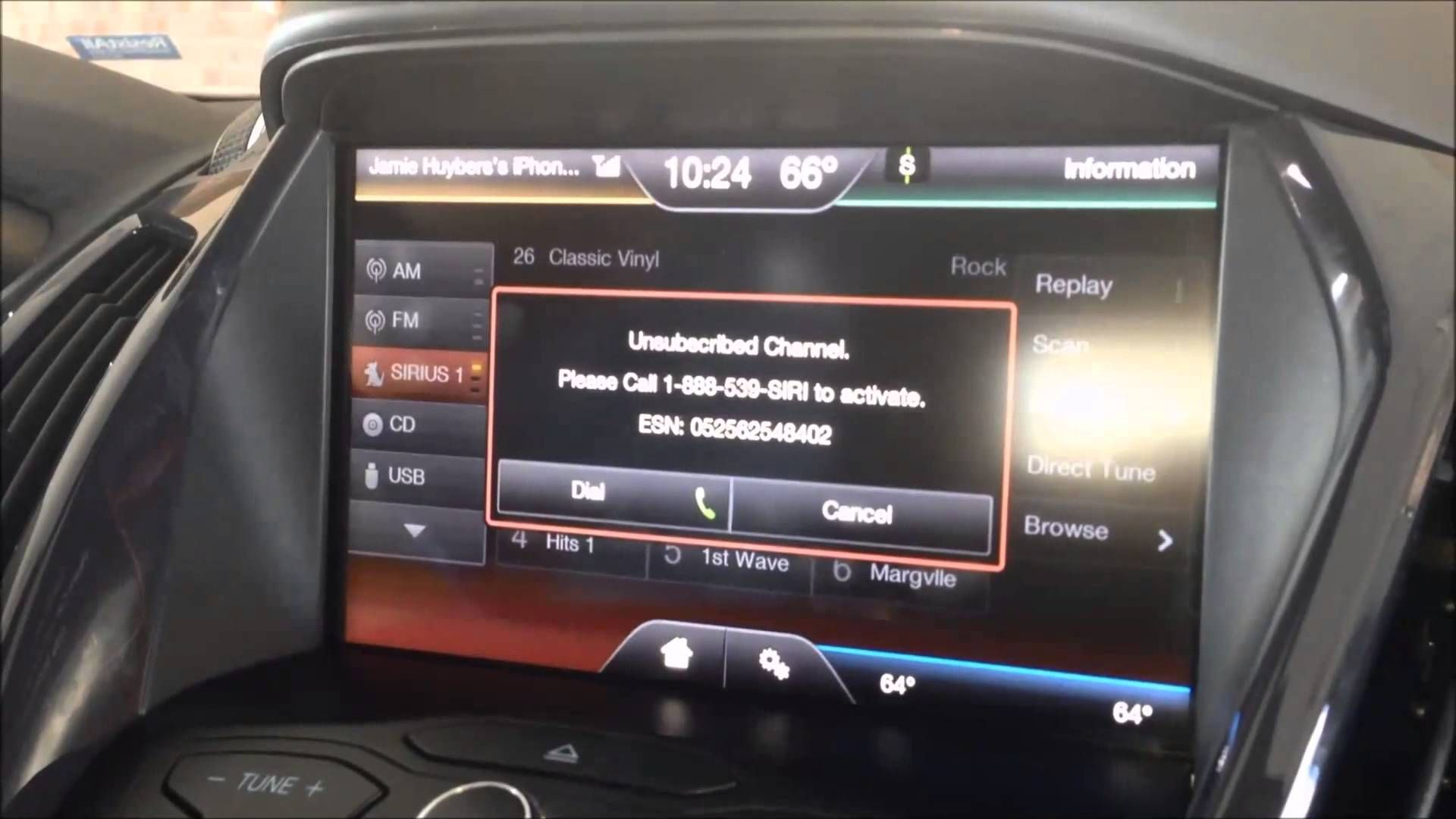 how to get sirius radio in car