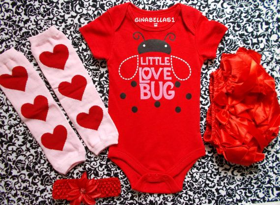 Valentine Love Heart Red Bodysuit Zebra Girl Baby Dress Leg Warmer Outfit Nb-18m Girls' Clothing (newborn-5t) Baby & Toddler Clothing