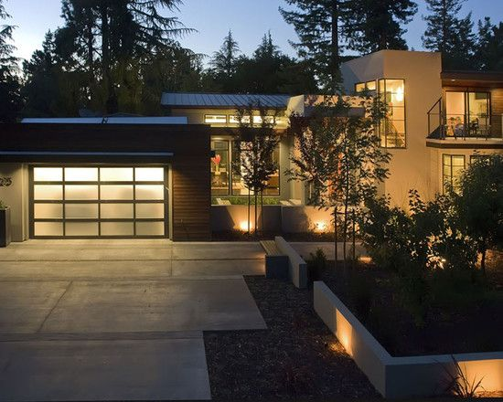 Design Of Home Exterior (replace Wood Slats With Stone), Use Of Concreteu201d
