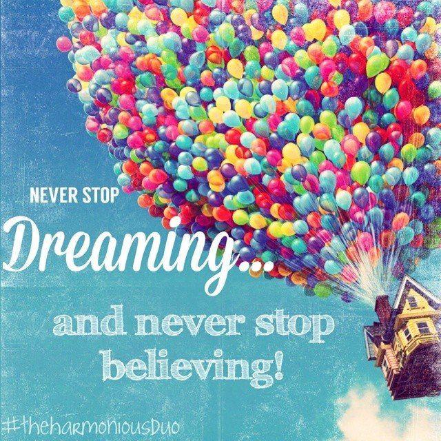 Dreaming is believing