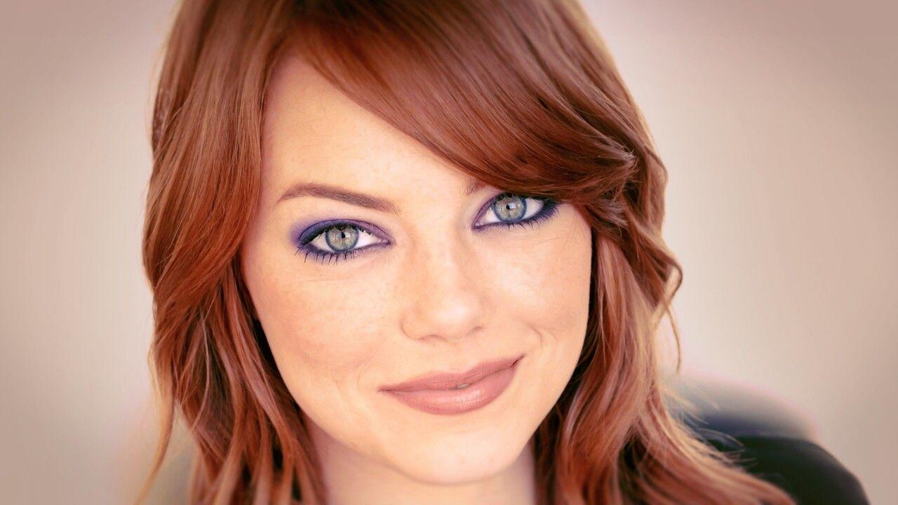 emma stone | movies in 2019 | wedding makeup redhead, emma