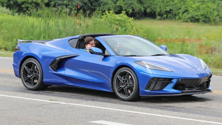 2020 Chevy Corvette Stingray C8 Spied Undisguised On Public Roads Chevy Corvette Corvette Stingray Chevrolet Corvette