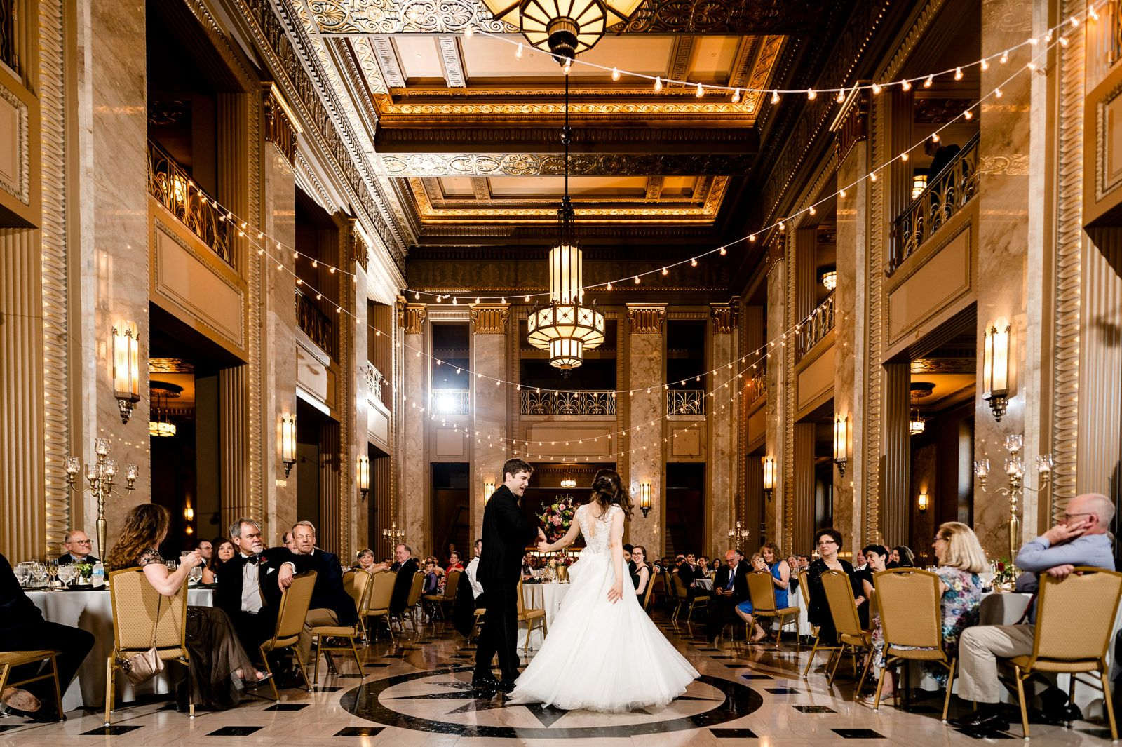 Saint Louis Wedding Photographer Stifel Theater Wedding Theatre Wedding St Louis Wedding St Louis Wedding Venues