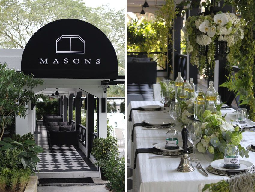 Masons At Gillman Barracks Is A Charmingly Restored Colonial Style Restaurant Perfect Singapore Wedding