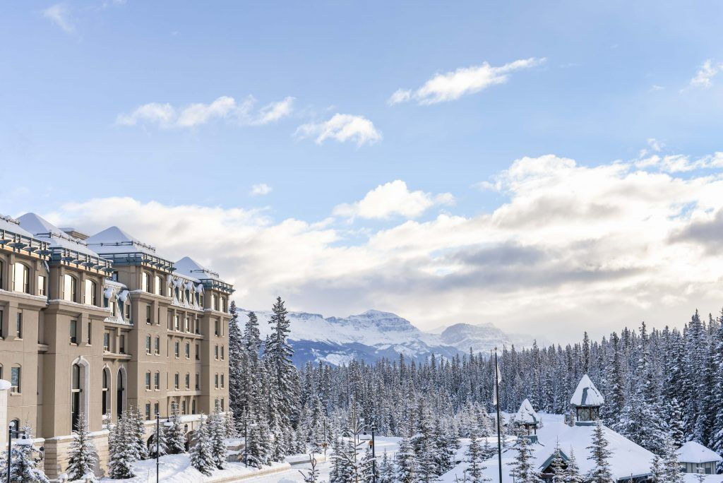 A Charming Canadian Christmas at the Chateau Lake Louise
