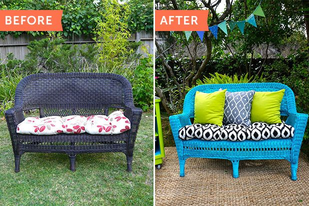 Comment nettoyer et peindre une chaise en osier? Bricolage, DIY - comment peindre une chaise