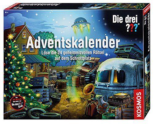 Kosmos 630966 Die Drei Adventskalender 2017 24 Geheimnisvoll Ratsel Adventkalender Adventskalender Adventskalender Kinder