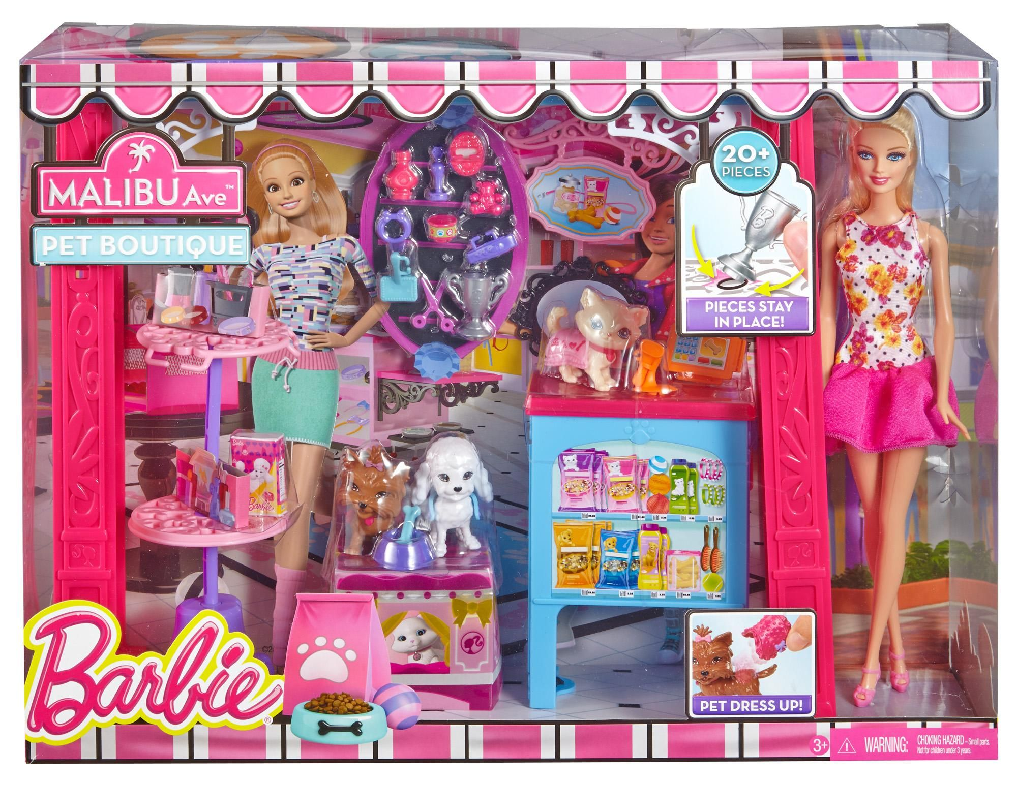 Doll Toys In Amazon Amazon Barbie Life In The Dreamhouse Pet Boutique And