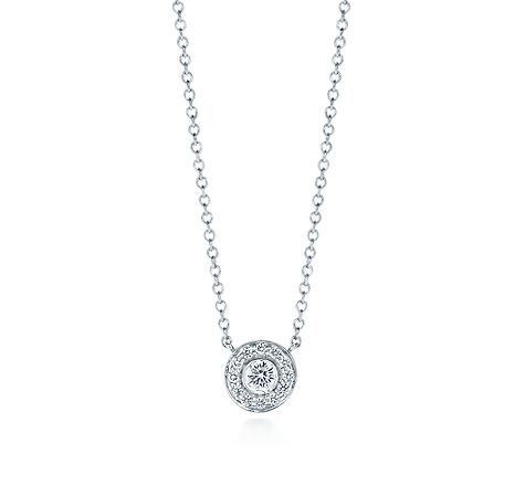 89f1f17c9 Tiffany & Co. | Item | Tiffany Circlet pendant with diamonds in platinum,  mini. | United States