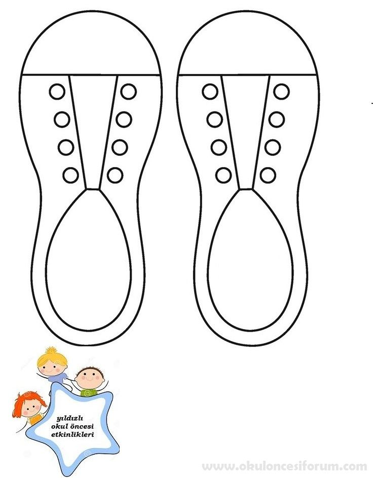 Ayakkabı Bağcığı Bağlama 1sınıf Etkinlikleri Vintage Paper