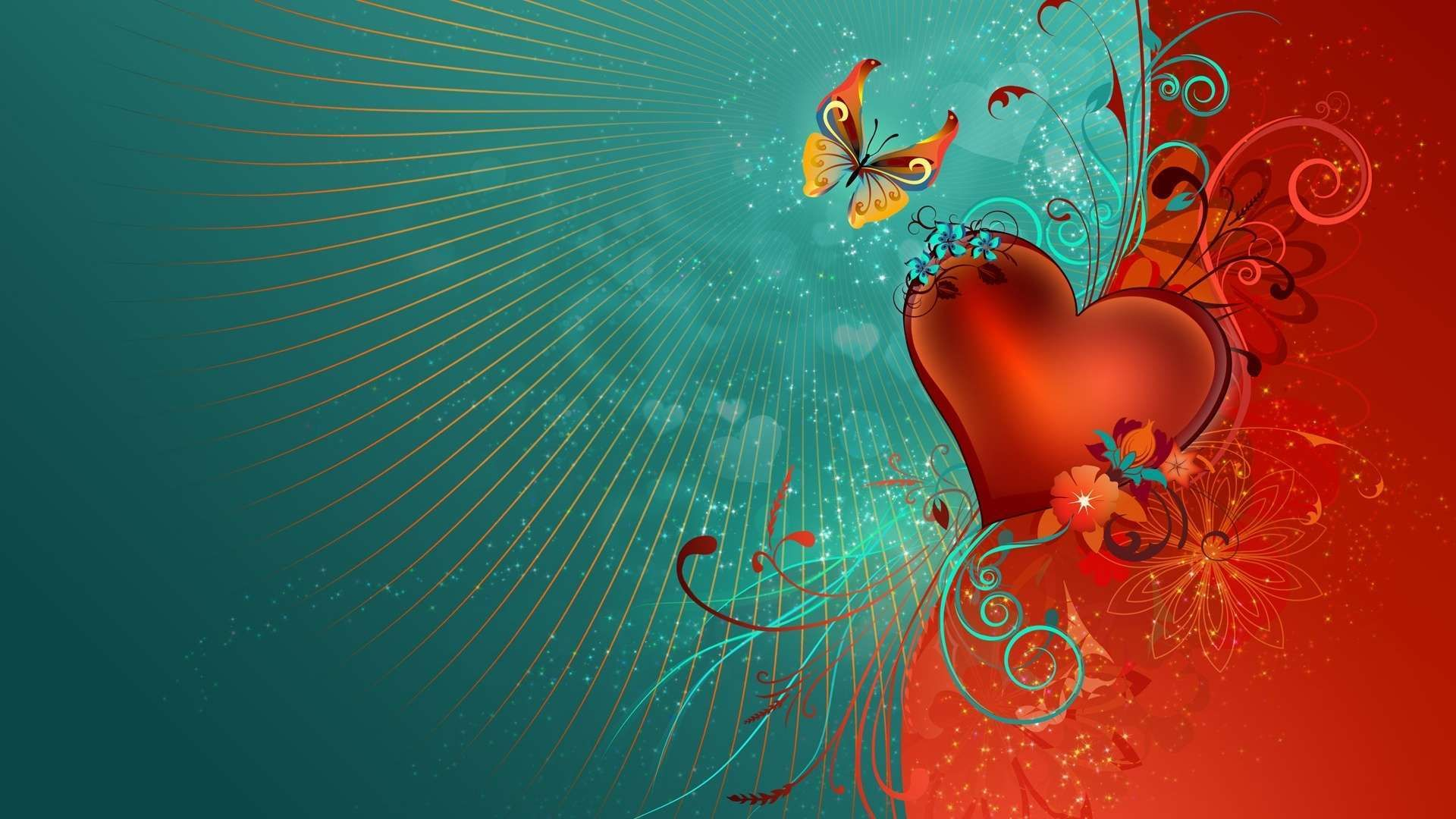 love heart hdtv wallpapers - http://hdwallpapersf/love-heart