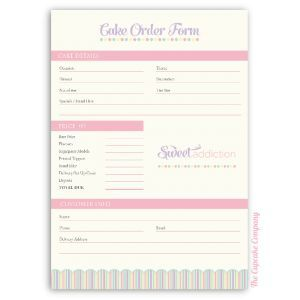 Candle Fundraiser Order Form Template | Besttemplates123 | Sample Order  Templates | Pinterest | Order Form
