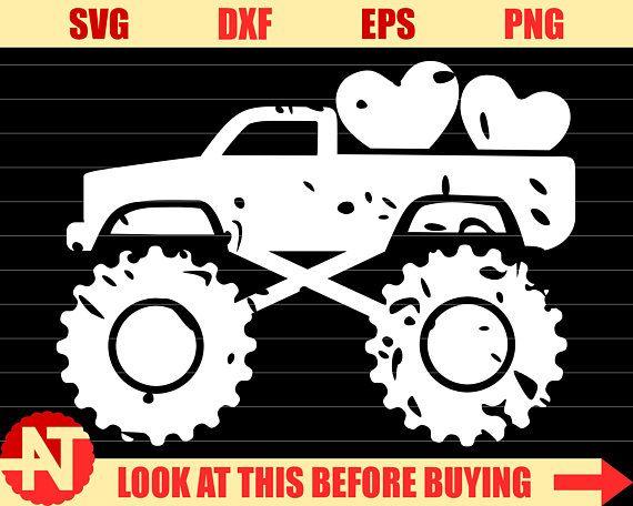 Boy Valentine Svg Valentine Truck Svg Distressed Truck Svg Valentine