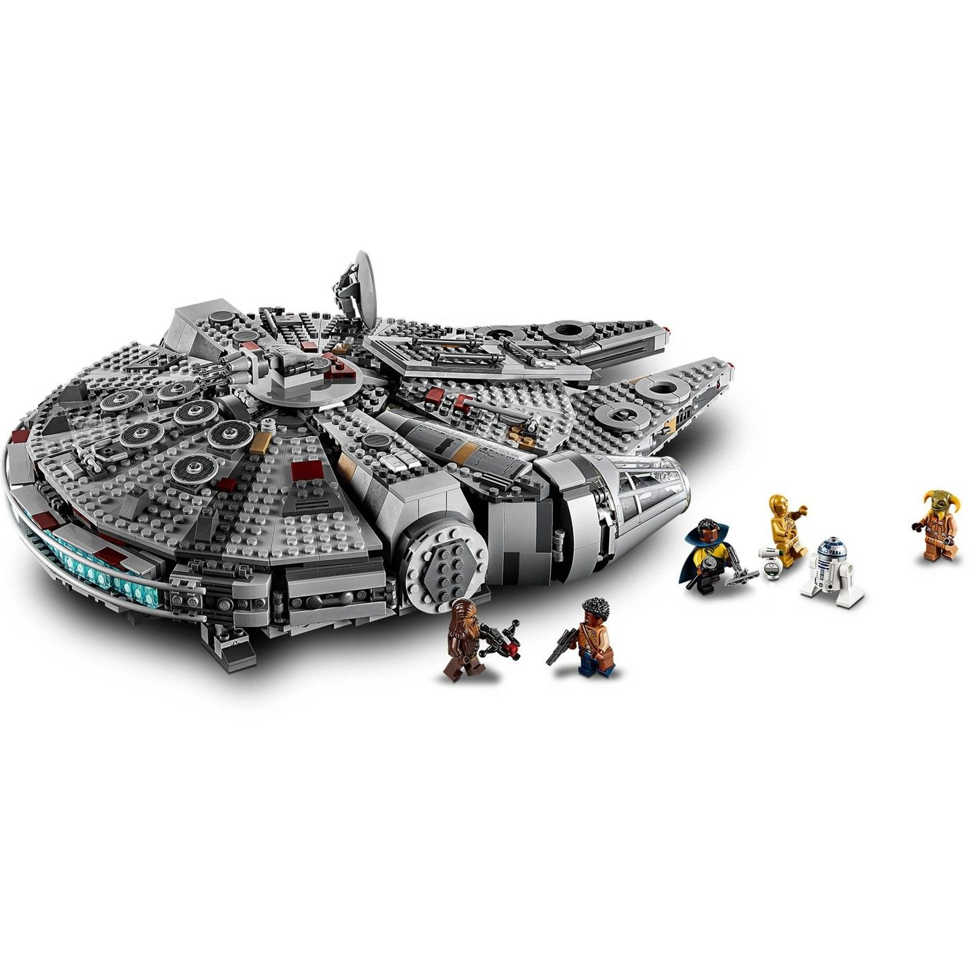 Lego Star Wars The Rise Of Skywalker Millennium Falcon Building Kit Starship Model With Minifigures 75257 Affili Lego Star Wars Lego Star Lego Star Wars Sets