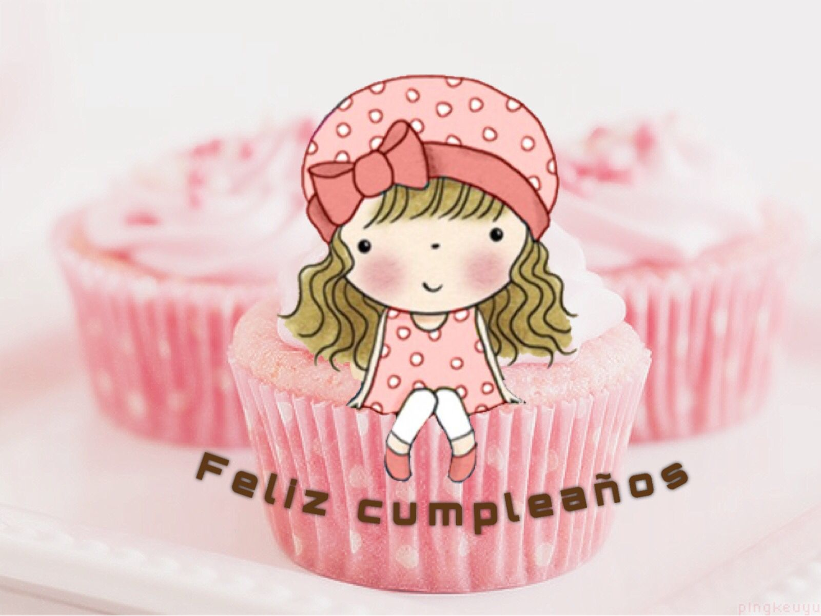 Feliz cumpleanos para nina s pictures to pin on pinterest - Cumpleanos para nina ...