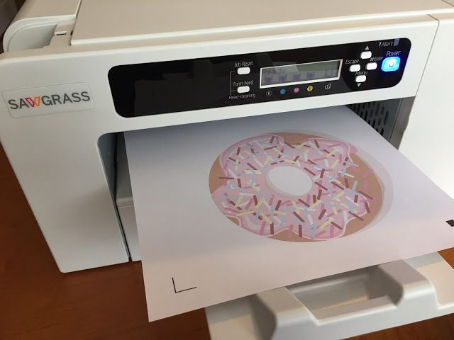 Sublimation Printing With Silhouette Cameo And Heat Transfer Vinyl Sublimation Printers Vinyl Projects Silhouette Silhouette School Blog