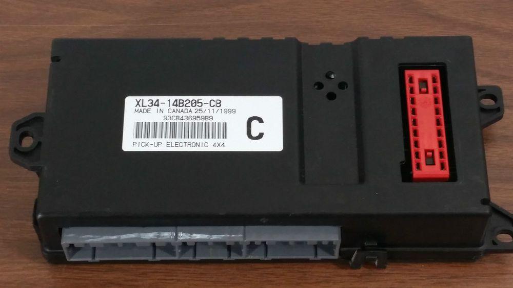 99 04 Ford F150 F250 4x4 Gem Multifunction Control Module Oem Xl34 14b205 Cb F150 Ford F150 F250