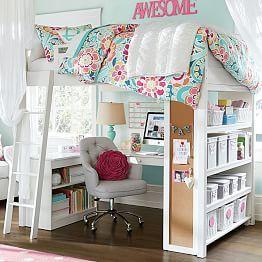 Girlsu0027 Beds, Girlsu0027 Bedroom Sets U0026 Girlsu0027 Headboards | PBteen