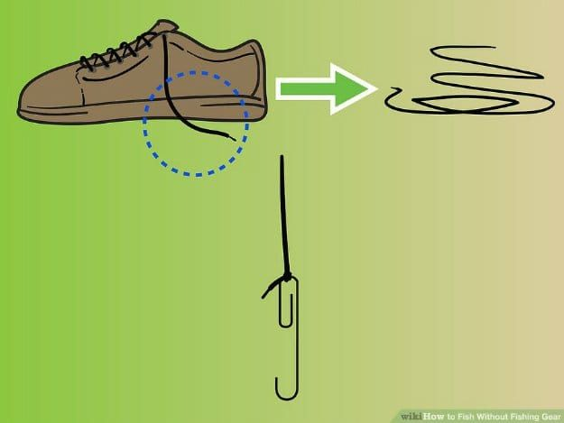 Unique Ways Shoe Laces Could Save Your Life Survival Life Fishing Gear Survival Fishing Accessories