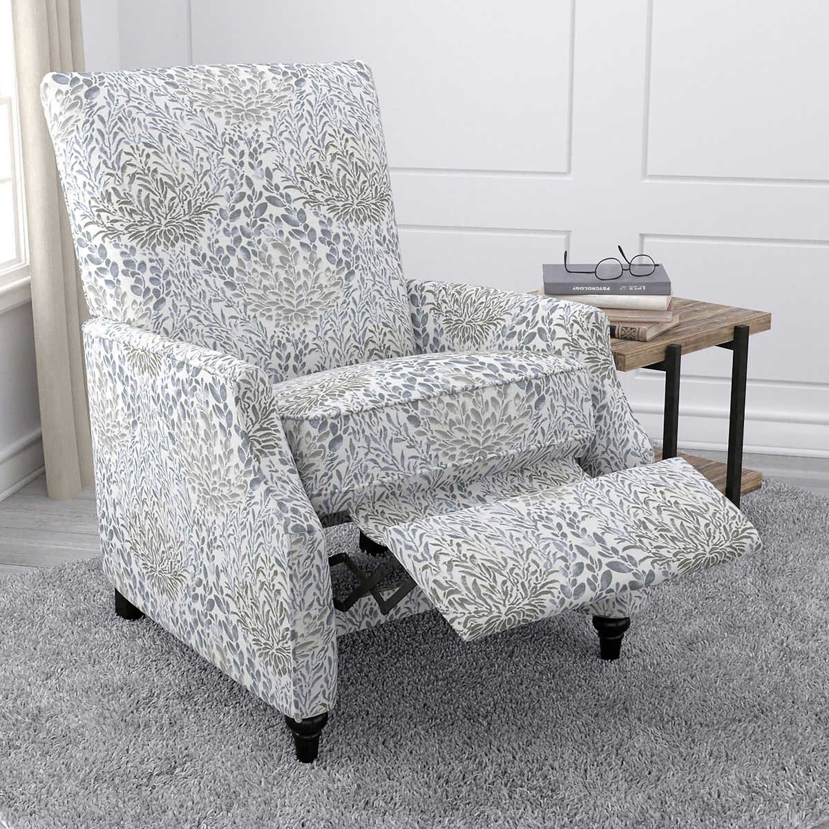 Accent Chairs At Costco Ingrid Fabric Pushback Prolounger Recliner Living Room