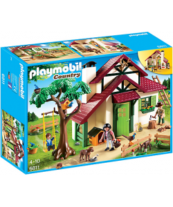 PLAYMOBIL ® 6811 CASA DEL GUARDABOSQUES