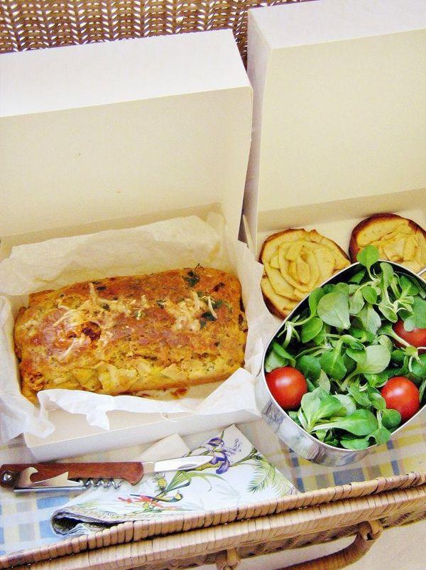 cake sal jambon olive plat cake chorizo et cooking. Black Bedroom Furniture Sets. Home Design Ideas