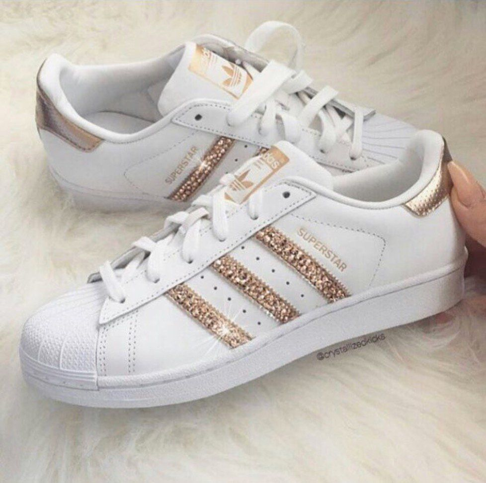 adidas Women's Superstar Shoes WhiteBlack