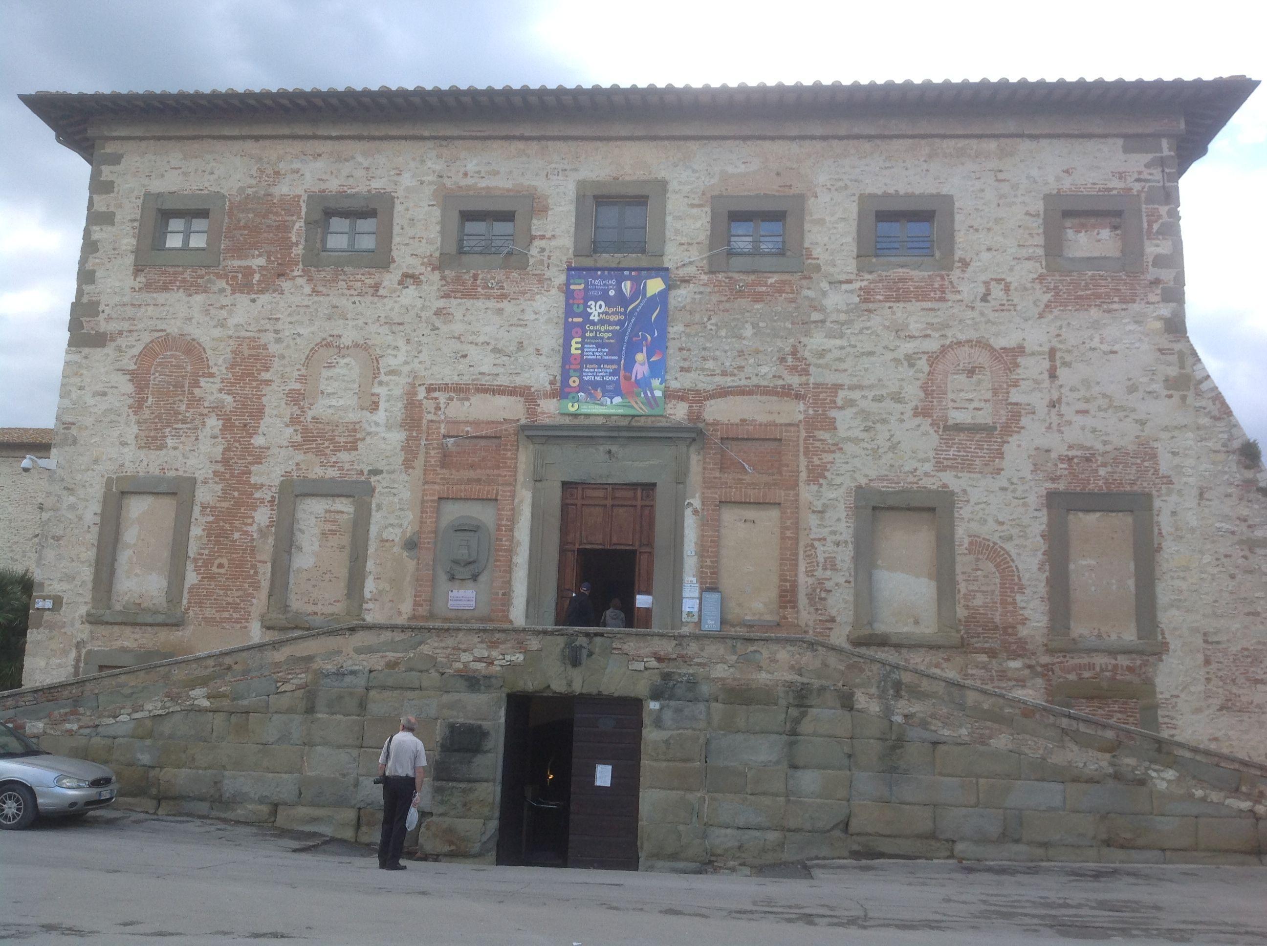 Palazzo della Corgna,  Castiglione del Lago, Umbria, Italia