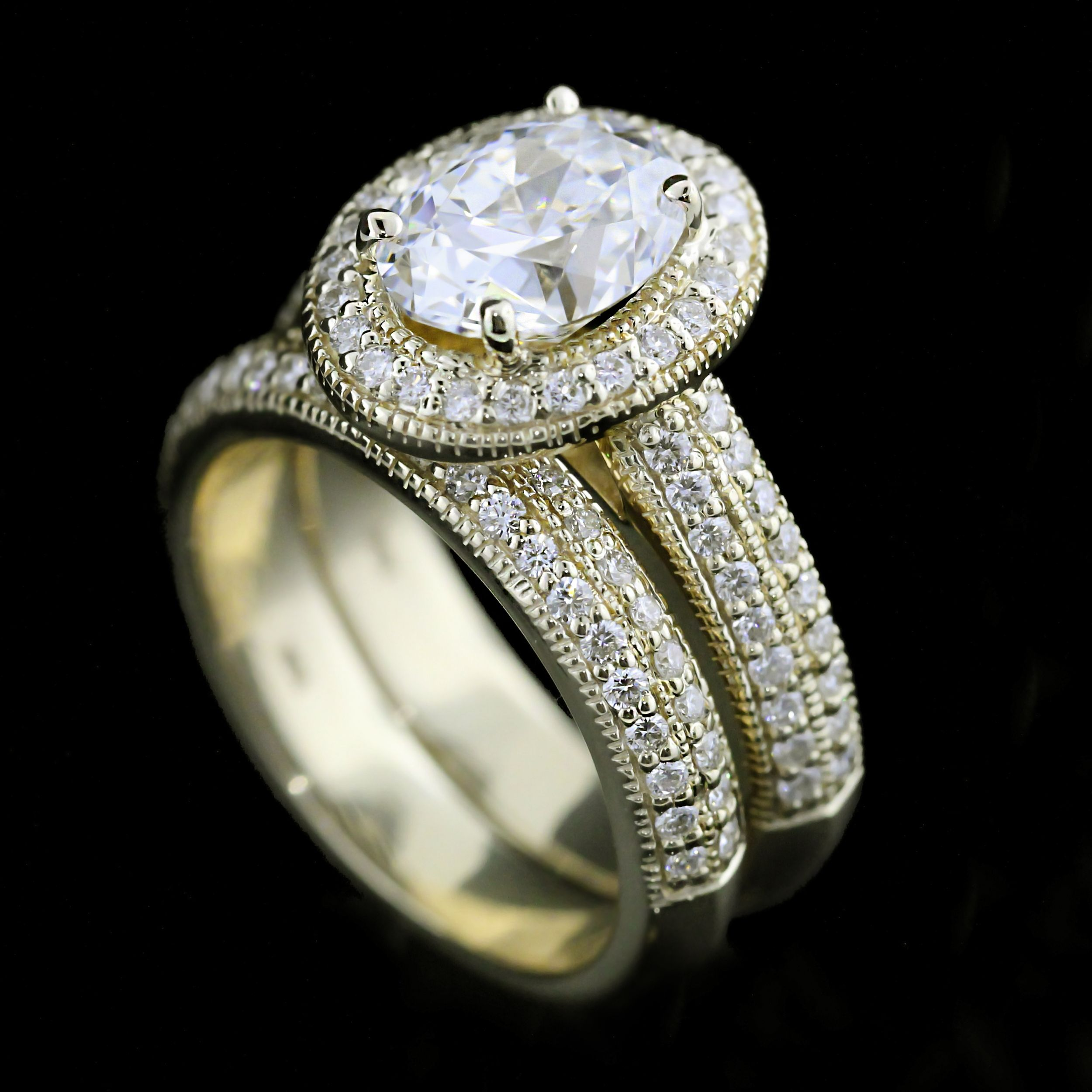engagement ring of attachment made full man band things wedding elegant beautiful threembride first rings view gallery or