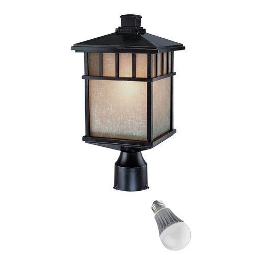 Dolan Designs Lighting 16 1 2 Inch Outdoor Post Light With Led Bulb 9116 68 8w Led Destination Lighting Outdoor Post Lights Post Lights Post Mount Lighting